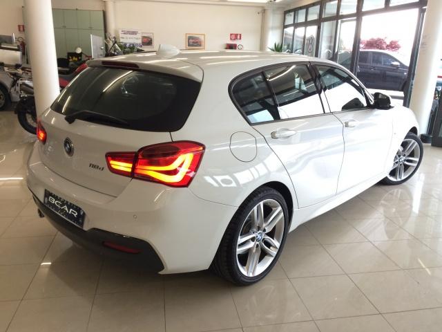 """BMW 118 dA 5p. Msport /Fari Led/Cam.Auto/Navi/ """"18 M Sport Immagine 1"""