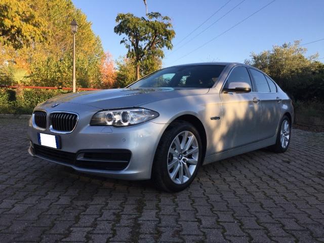 BMW 520 Argento metallizzato
