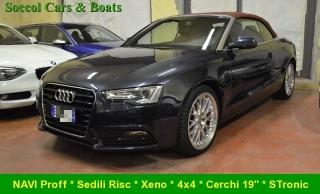 Audi a5/s5/cabrio usato a5 cabrio 3.0 v6 tdi 245cv qu. s tr.