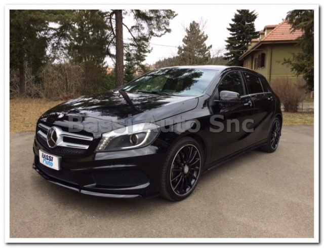 MERCEDES-BENZ A 200 Nero vulcano metallized