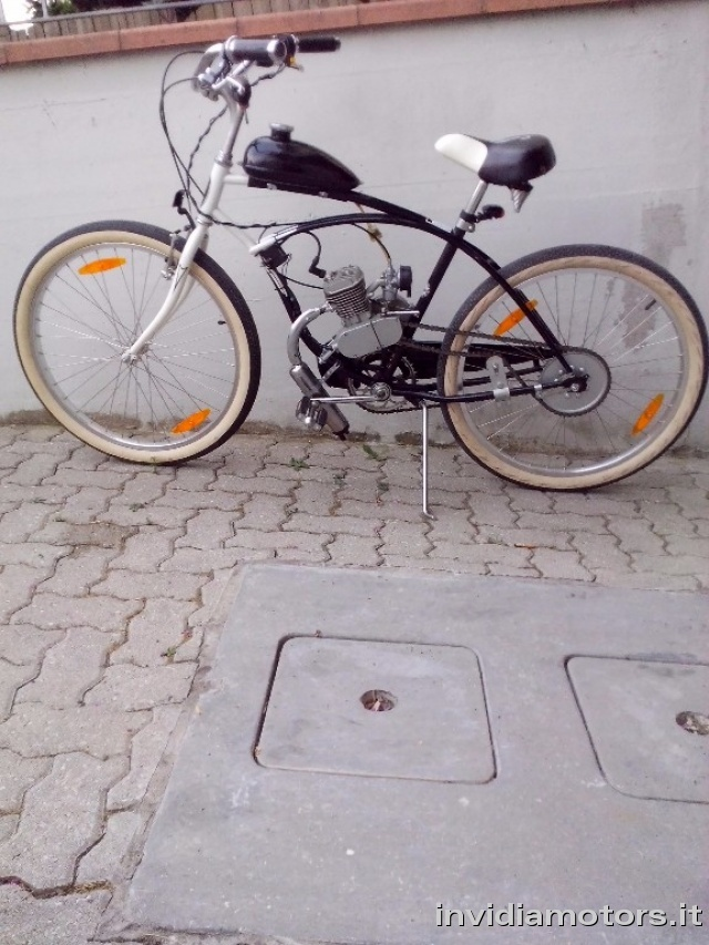 OTHERS-ANDERE OTHERS-ANDERE Schwinn Engine Cruiser Bicycles MOTORE 80cc Immagine 4