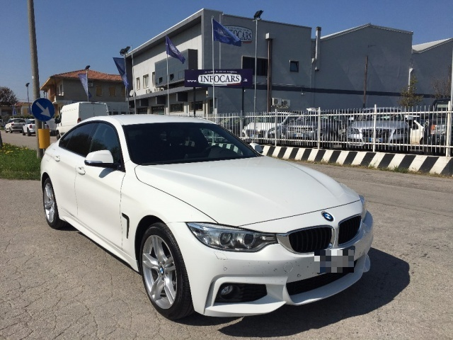BMW 420 alpinweiss pastello