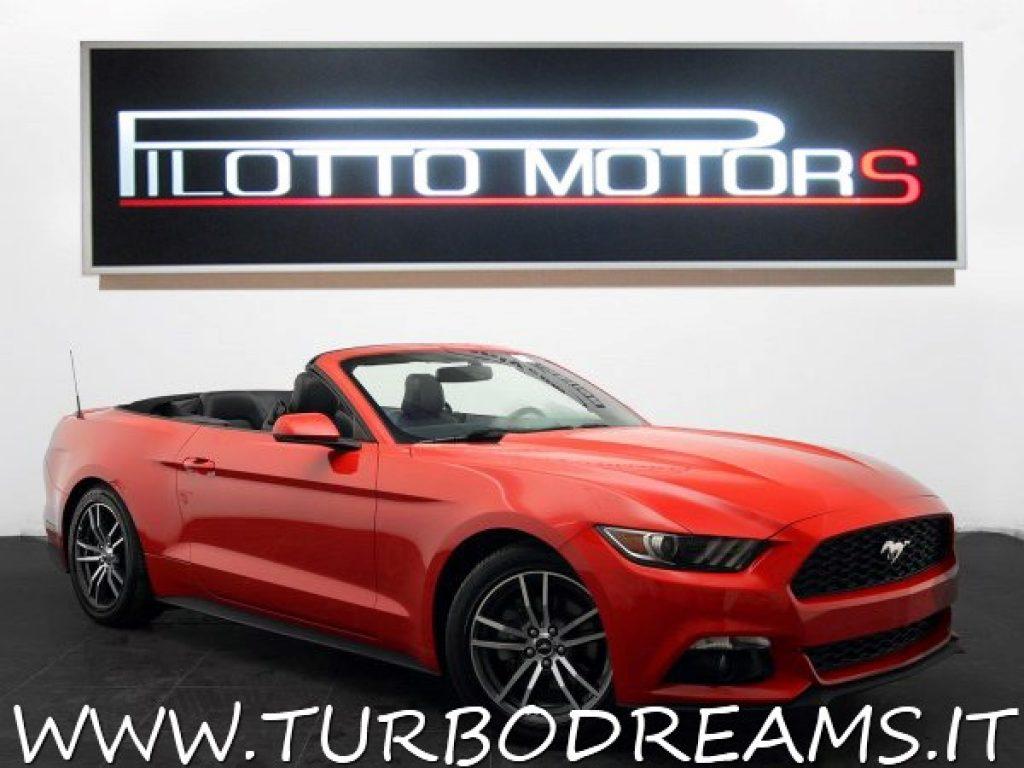 Turbodreams scheda tecnica ford mustang 2 3 ecoboost cabrio automatica premium convertible