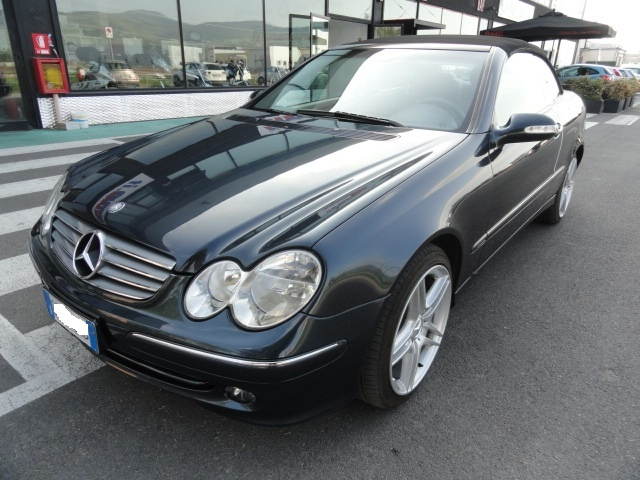 OTHERS-ANDERE OTHERS-ANDERE MERCEDES CLK CABRIO KOMPRESSOR ELEGANCE GPL Immagine 1