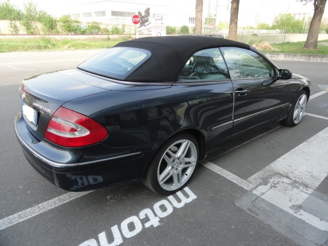 OTHERS-ANDERE OTHERS-ANDERE MERCEDES CLK CABRIO KOMPRESSOR ELEGANCE GPL Immagine 3