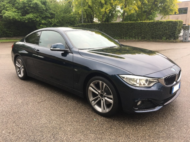 BMW 420 MIDNIGHT BLUE metallizzato