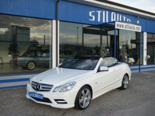 Mercedes classe e cabrio usato e 220 cdi cabrio blueefficiency