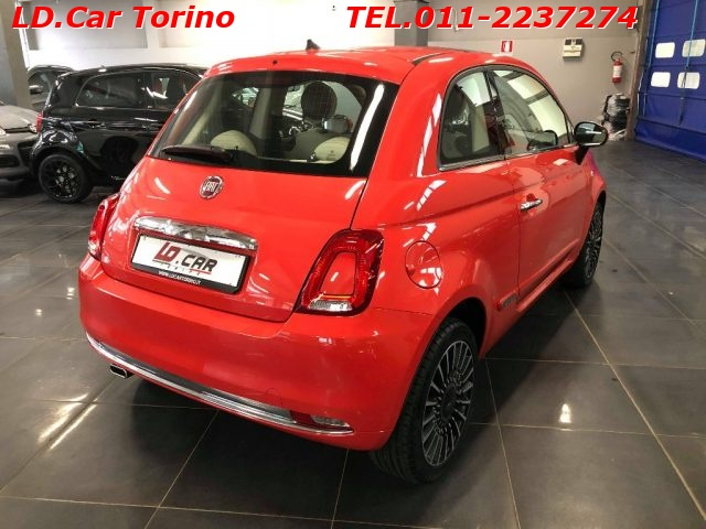 FIAT 500 1.2 Lounge PACK STYLE+CLIMA AUTO.+CRUISE C.* Immagine 2