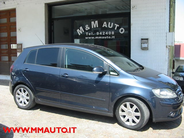 VOLKSWAGEN Golf Plus BLU SCURO  metallizzato