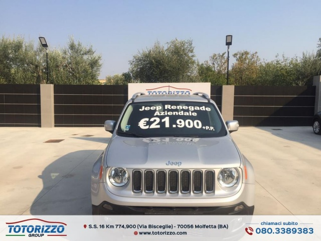 JEEP Renegade 1.6 Mjt 120 CV Limited Immagine 0
