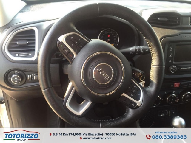 JEEP Renegade 1.6 Mjt 120 CV Limited Immagine 4