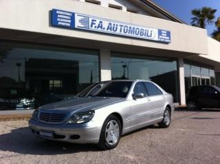 Mercedes classe s usato s 600 cat lunga