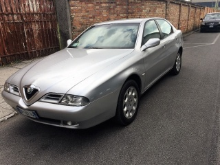 Alfa romeo 166 usato 2.0i 16v twin spark cat distinctive