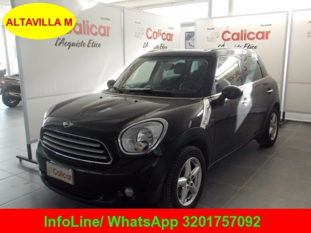 MINI Countryman Absolute Black  metallizzato