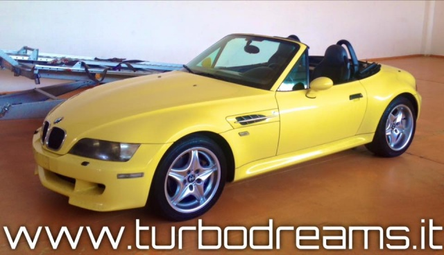 BMW Z3 3.2 24V cat M ROADSTER DAKAR GELB TOP ZUSTAND !!! Immagine 1