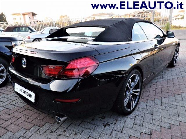 BMW 640 d Cabrio Futura Immagine 2