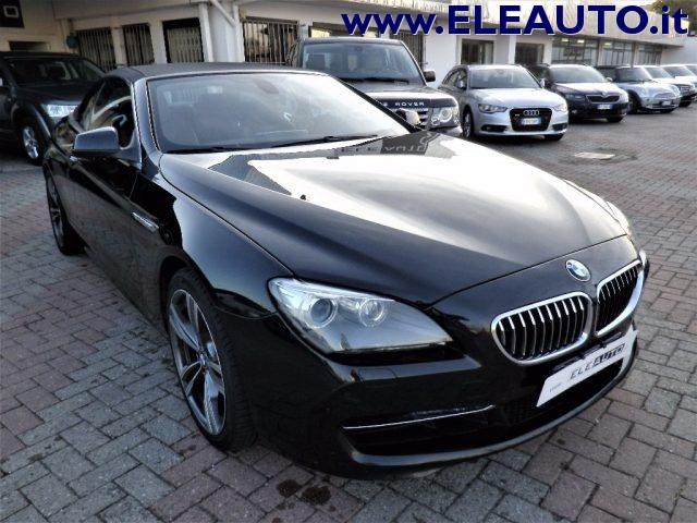 BMW 640 d Cabrio Futura Immagine 0