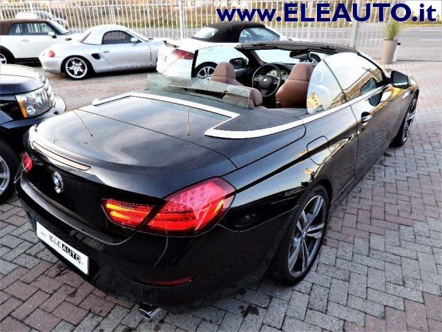 BMW 640 d Cabrio Futura Immagine 4