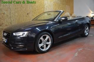 Audi a5/s5/cabrio usato a5 cabrio 2.0 tdi 177cv mult. advanced