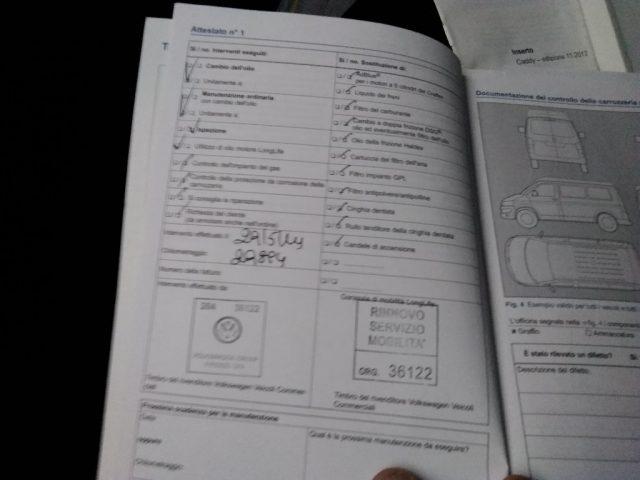 VOLKSWAGEN Caddy 2.0 Ecofuel Maxi METANO HACCP 130300 km 7