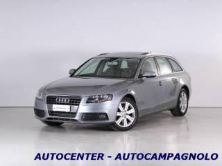 Audi a4 4 usato a4 avant 2.0 tdi 143cv ambiente plus