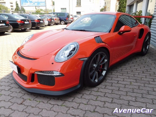 PORSCHE 911 Orange pastello