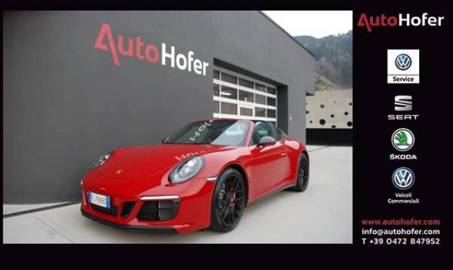PORSCHE 991 3.0 Targa 4 GTS Full LED PDK 20 Immagine 0