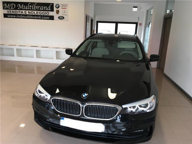 BMW 520 d Touring Sportline gancio traino + telecamera Immagine 0