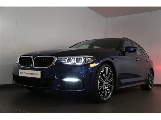 BMW 520 D XDrive Touring M-Sport 48V MILDHYBRID + gancio Immagine 3