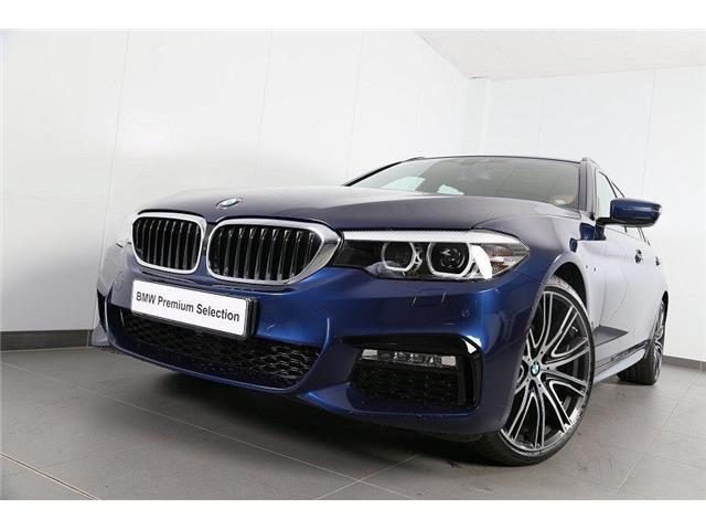BMW 520 D XDrive Touring M-Sport 48V MILDHYBRID + gancio Immagine 2
