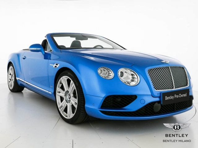 BENTLEY Continental GT W12 Convertible - Price list ?278.000 Immagine 0