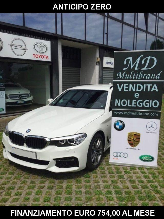 BMW 520 D XDrive Touring MSPORT - gancio traino + teleca Immagine 1