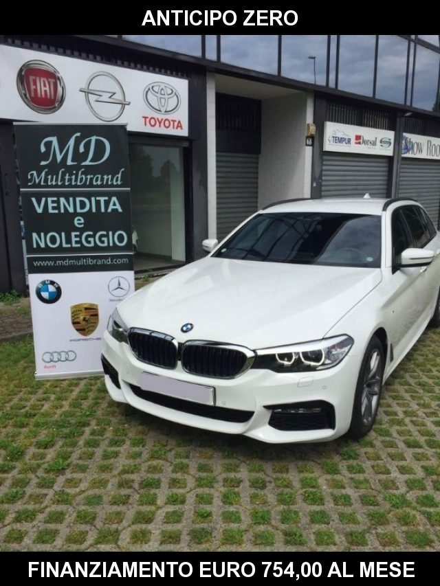 BMW 520 D XDrive Touring MSPORT - gancio traino + teleca Immagine 2