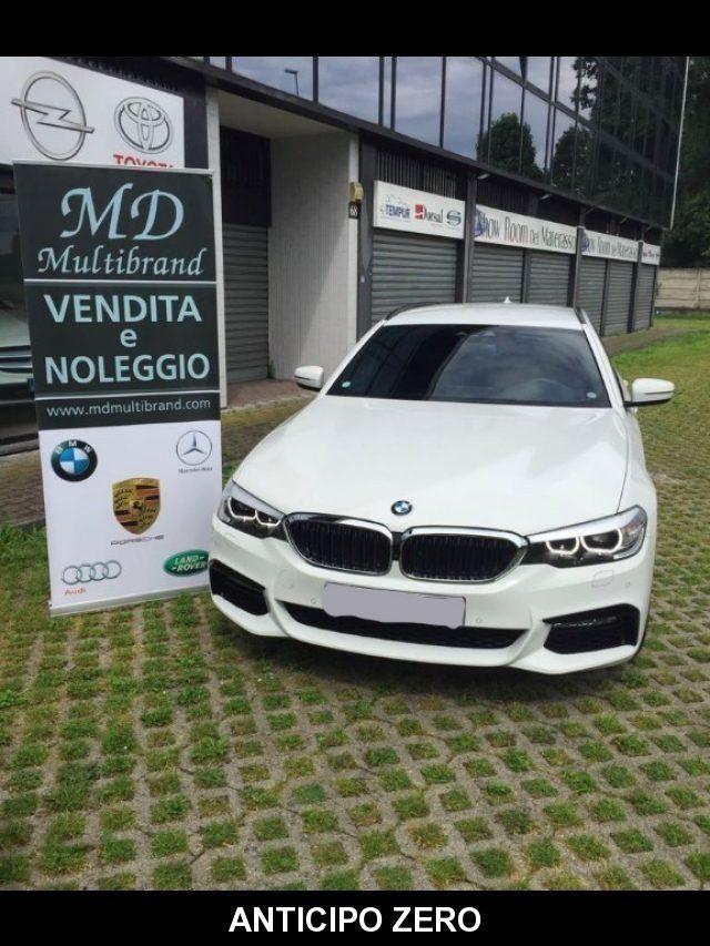 BMW 520 D XDrive Touring MSPORT - gancio traino + teleca Immagine 0