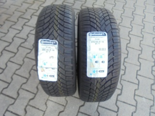 PEUGEOT 4007 205/55 R16 91T CONTINENTAL WINTER TS850 4 GOMME Usata