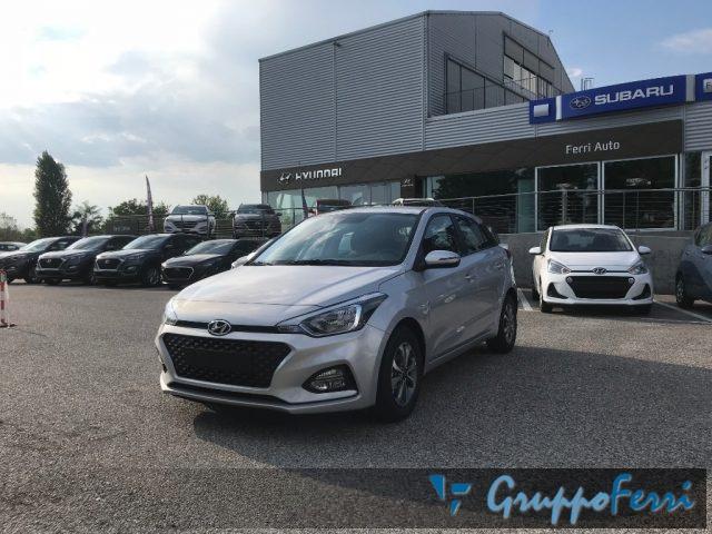 Hyundai I20 nuova 1.2 MPI 75CV Tech Connect pack a benzina Rif. 10926595