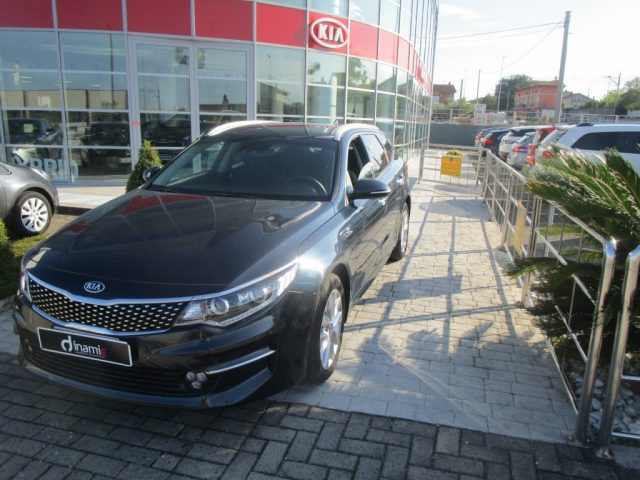 KIA Optima Blu metallizzato