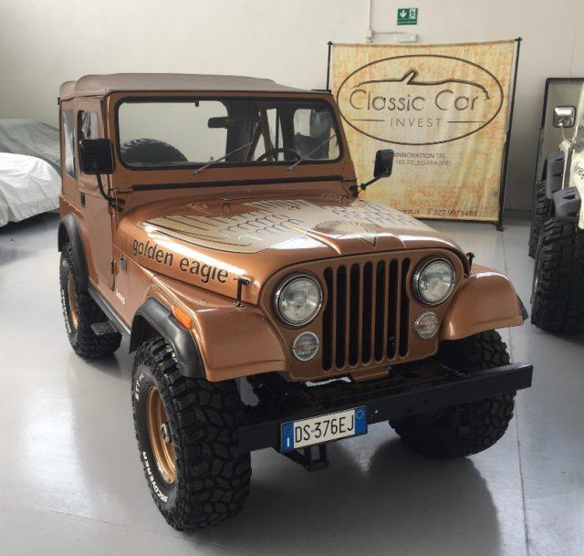 Jeep Cj-5 d'poca GOLDEN EAGLE V8 CONSERVATO a benzina Rif. 10666770