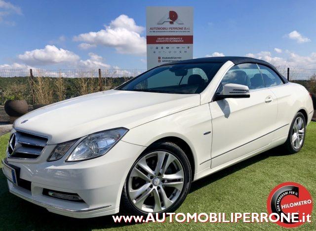 Mercedes-benz usata CDI Cabrio BlueEfficency Avantgarde (Capote blu) diesel Rif. 11631102