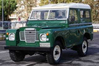 LAND ROVER Series 88 SERIE 2A Del 66 Diesel EPOCA Permute Usata