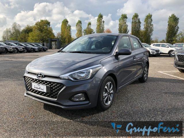 Hyundai I20 nuova 1.2 MPI 75CV Tech Connect pack a benzina Rif. 10926691