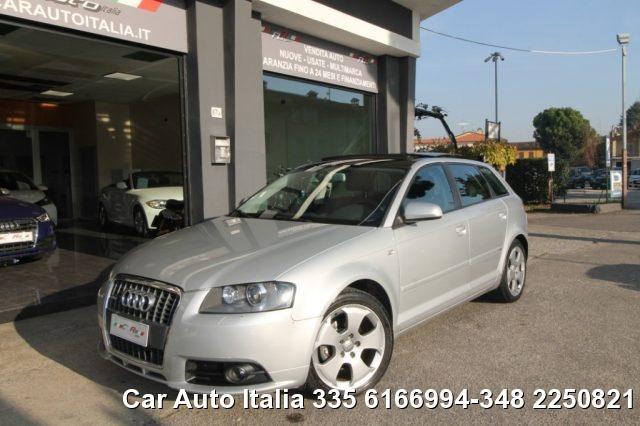 Audi A3 usata Sportback 1.6 Ambition S Line S-LINE PANORAMA XENO a benzina Rif. 9760386