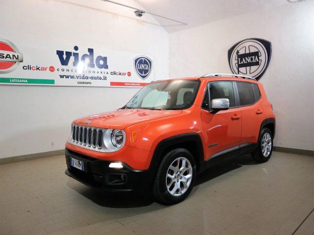 "Jeep Renegade 1.6 Mjt DDCT 120 CV Limited NAV 6,5"""