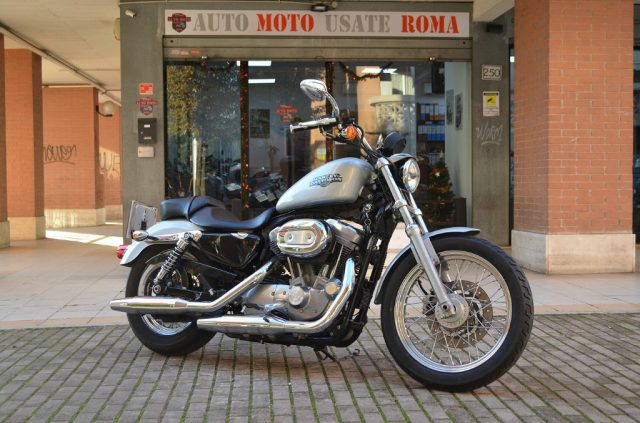 HARLEY-DAVIDSON 883L Sportster Low - XL Argento metallizzato