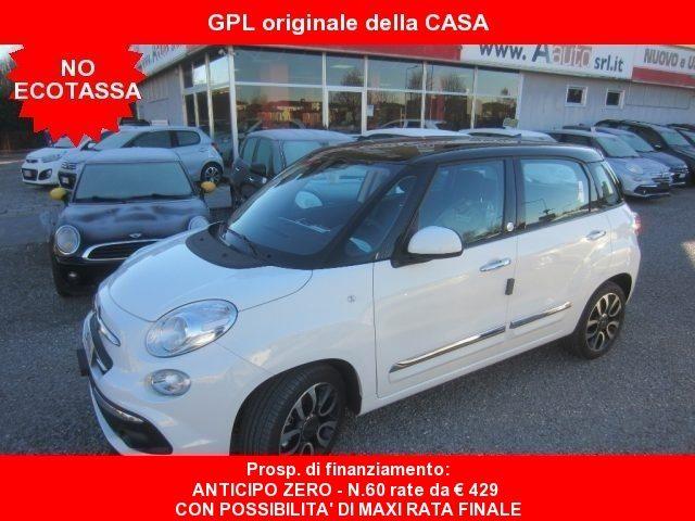 Fiat 500l usata 1.4 T-Jet 120cv GPL Mirror -BICOLOR-km 0-IVA DETR. a gpl Rif. 9726079
