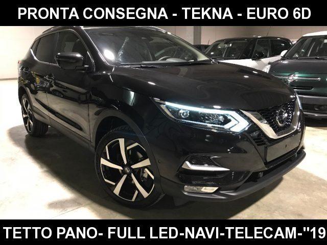 "Nissan Qashqai 1.5 dCi 115 CV TEKNA E6D+Tetto+""19+Navi+Park 360"