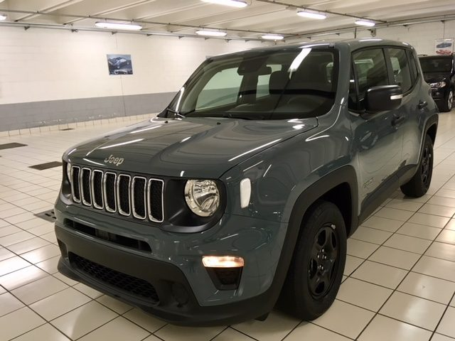 JEEP Renegade Antracite pastello