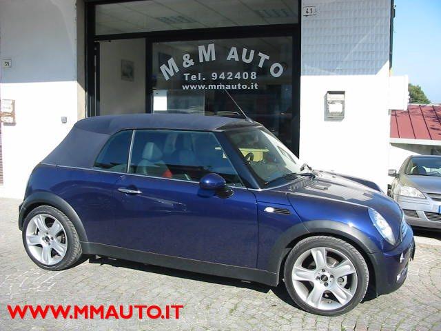 Mini usata Mini 1.6 16V Cooper Cabrio a benzina Rif. 10928022