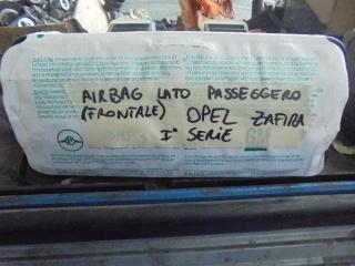 OPEL Zafira AIRBAG PASSEGGERO FRONTALE Usata