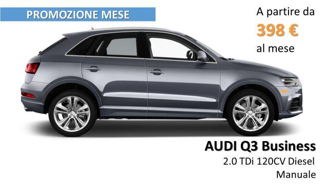 Audi Q3 nuova 2.0 TDI 120 CV Business - PROMOZIONE diesel Rif. 9857062